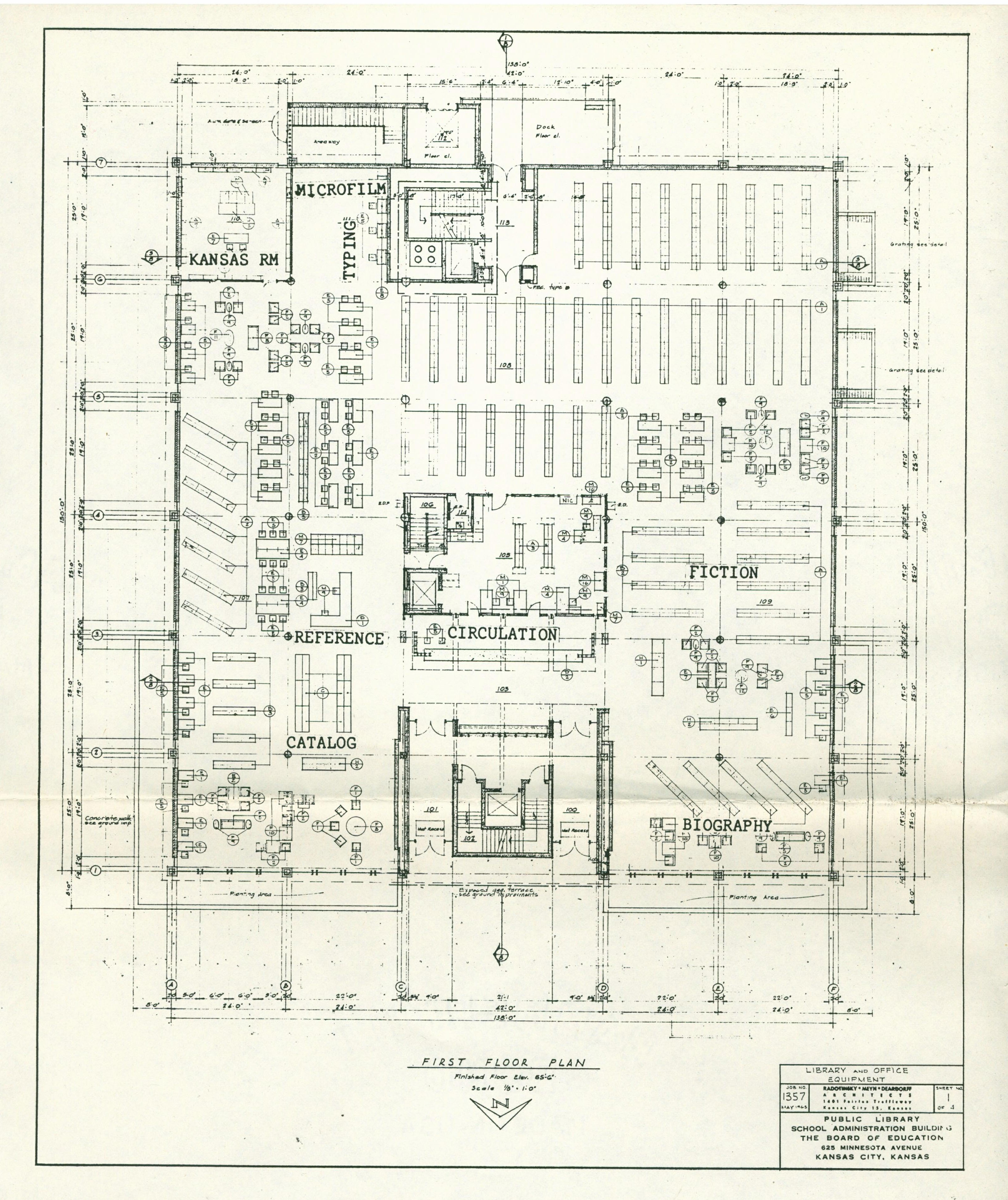 Main Drawing 1st floor
