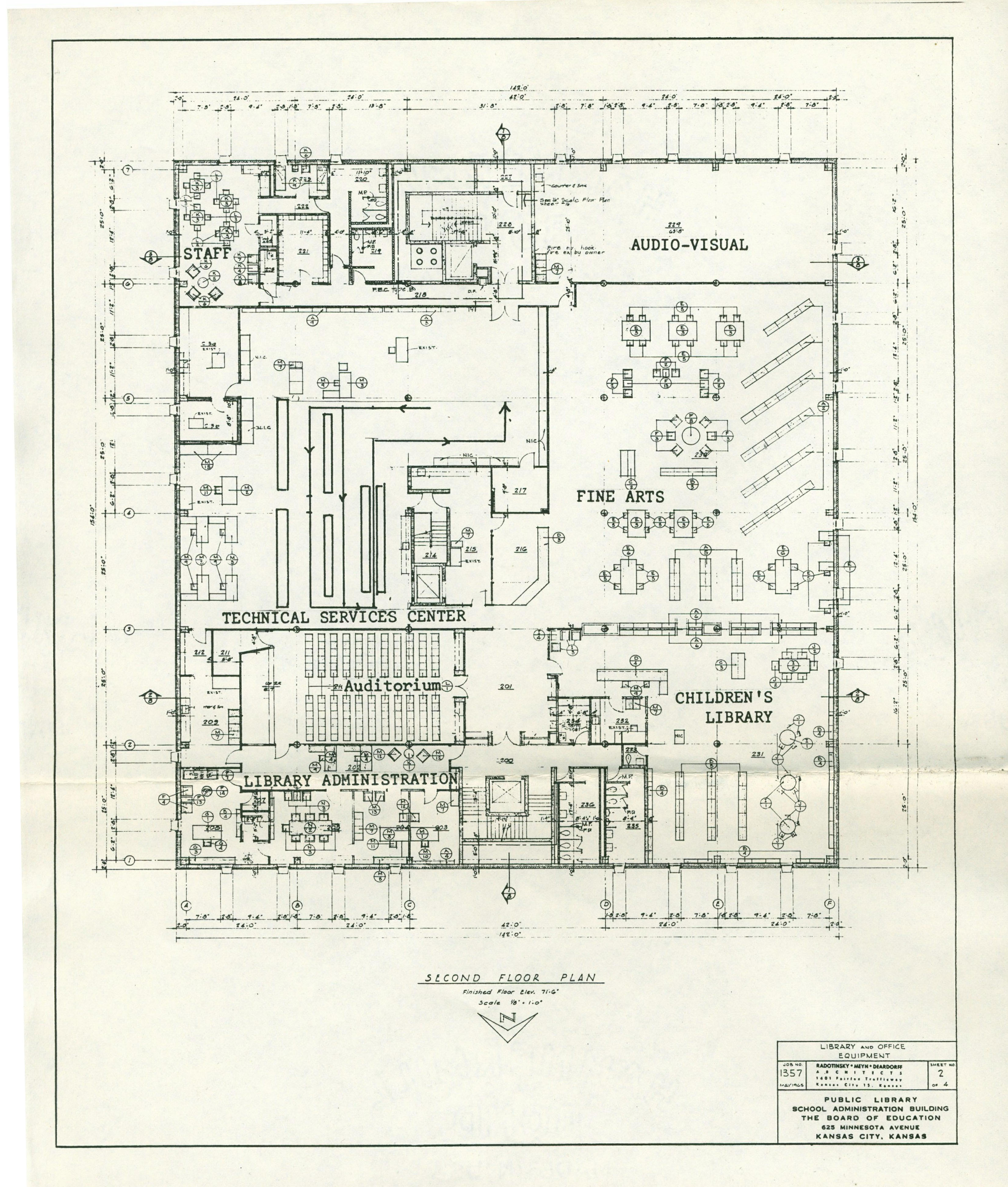 Main Drawing 2nd floor